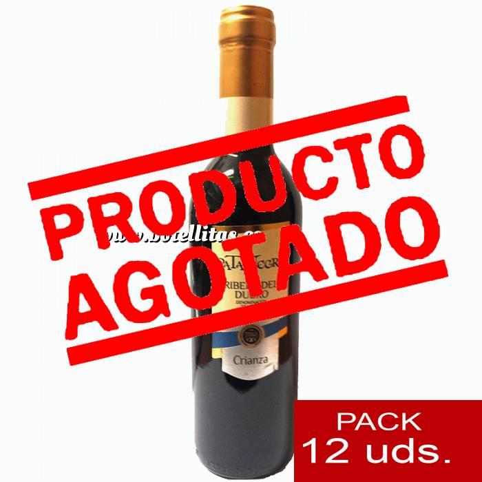Imagen 4 Vino Vino Pata Negra Rivera de Duero Crianza 37.5 cl CAJA COMPLETA 12 UDS