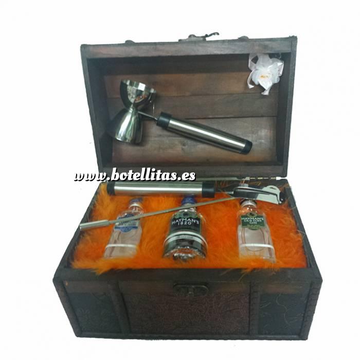 Imagen ¿Es para regalo? Cofre Grande con 3 Ginebras más accesorios Gin Tonic