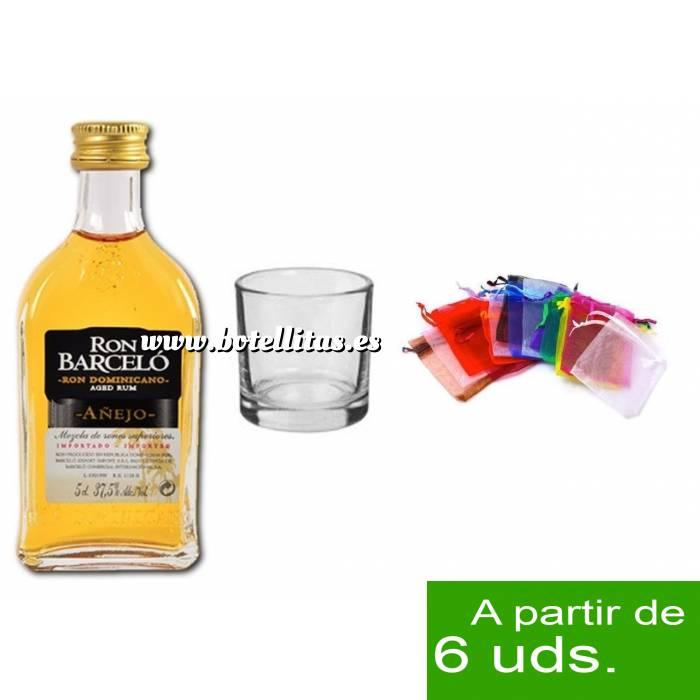 Imagen - Los kits más deseados Pack Barcelo 5cl más Chupito más Bolsa de Organza