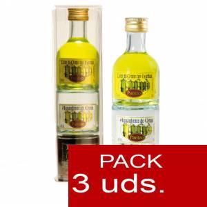 2 Licor, Orujo y Cremas - Triple Orujo de hierbas, Aguardiente de Orujo y Cafe Panizo 5cl