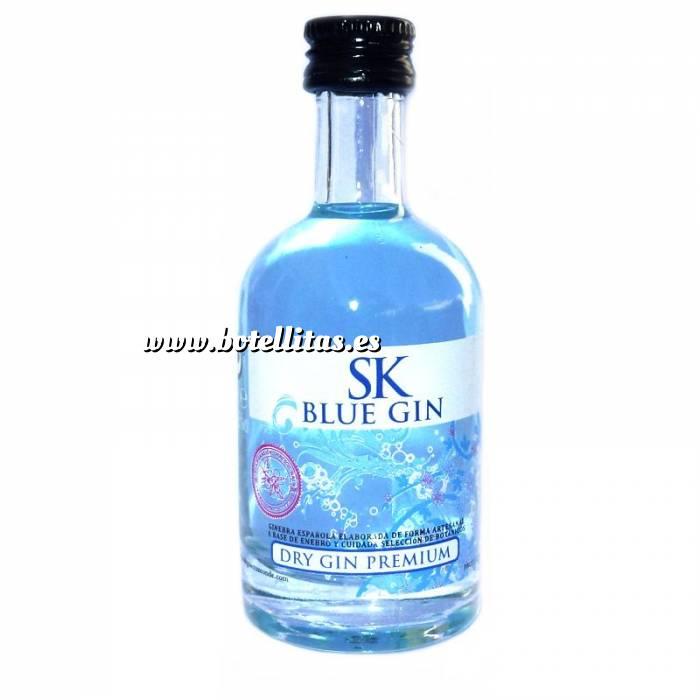 Imagen 1 Ginebra Ginebra SK Blue Dry Gin 5cl