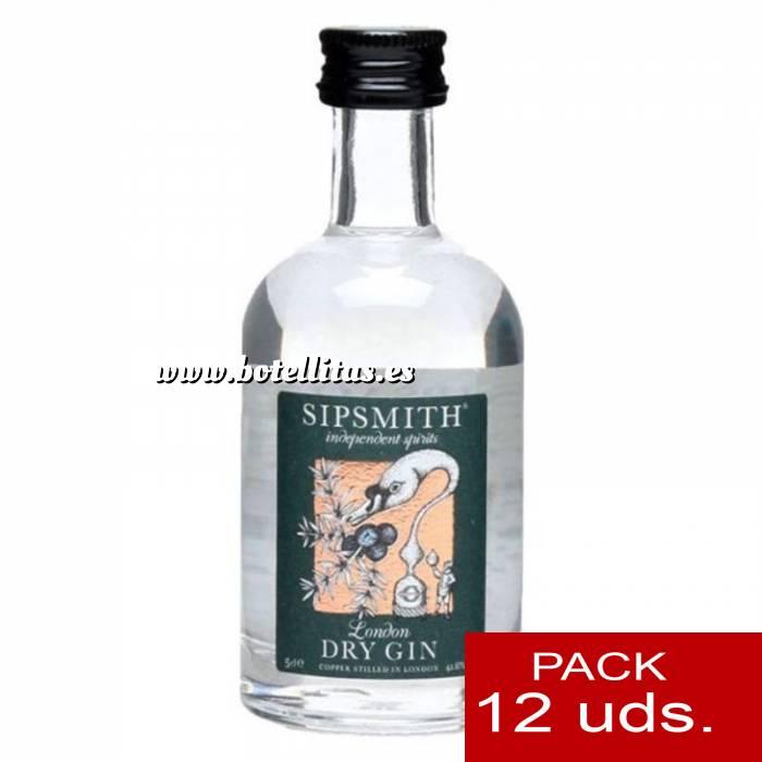 Imagen 1 Ginebra Ginebra Sipsmith London Dry Gin 5cl - PT 1 PACK DE 12 UDS