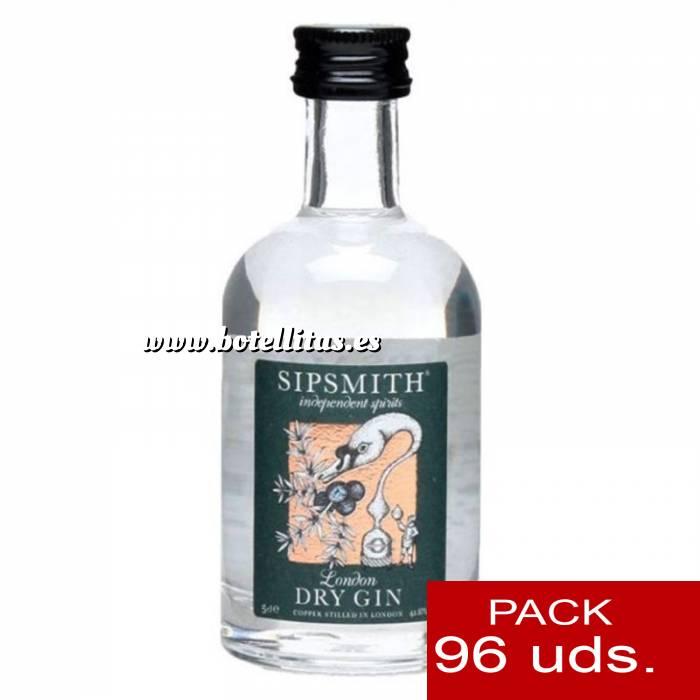 Imagen 1 Ginebra Ginebra Sipsmith London Dry Gin 5cl - PT CAJA DE 96 UDS