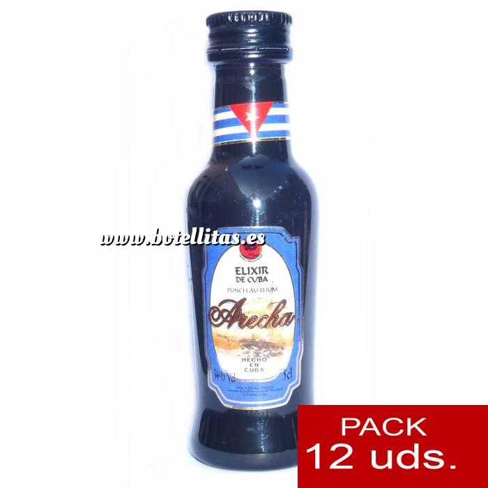 Imagen 3 Ron Ron Arecha Elixir de Cuba 5cl - PT 1 PACK DE 12 UDS