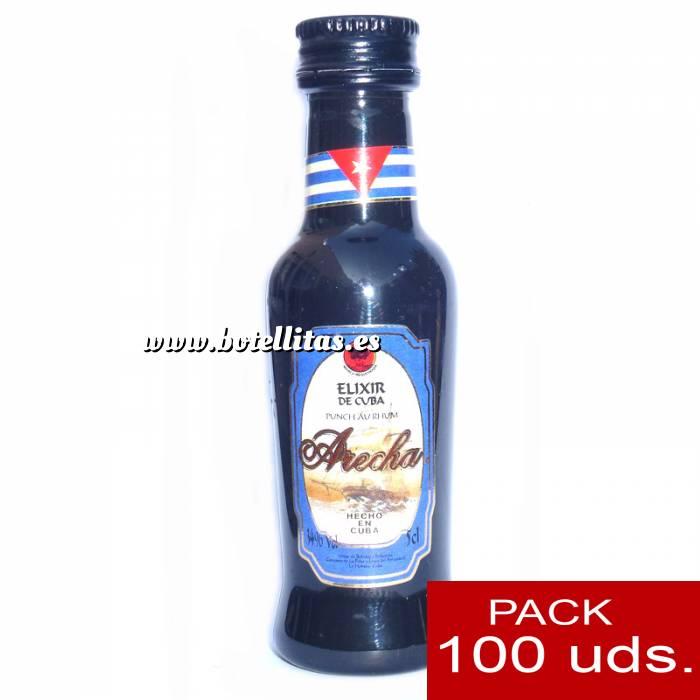 Imagen 3 Ron Ron Arecha Elixir de Cuba 5cl - PT CAJA DE 100 UDS