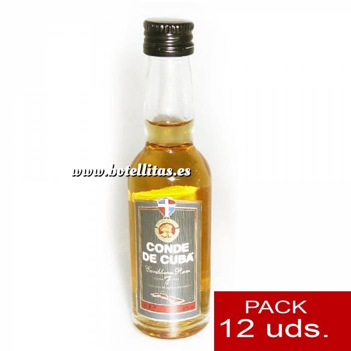 Imagen 3 Ron Ron Conde de Cuba 7 años 4cl 1 PACK DE 12 UDS