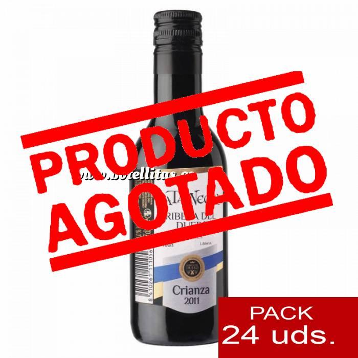 Imagen 4 Vino Vino Pata Negra Rivera de Duero Crianza 18.7 cl CAJA COMPLETA 24 UDS
