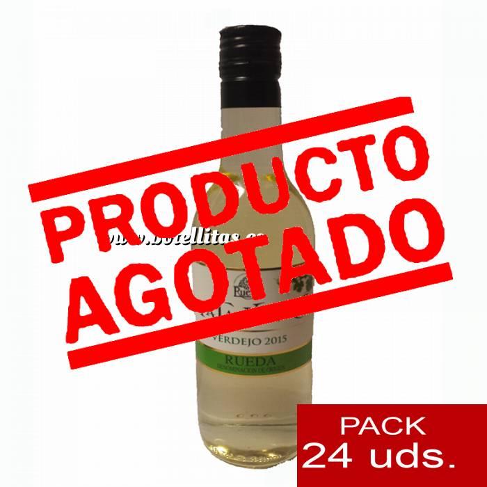Imagen 4 Vino Vino Pata Negra Rueda Blanco Verdejo 18.7 cl CAJA COMPLETA 24 UDS