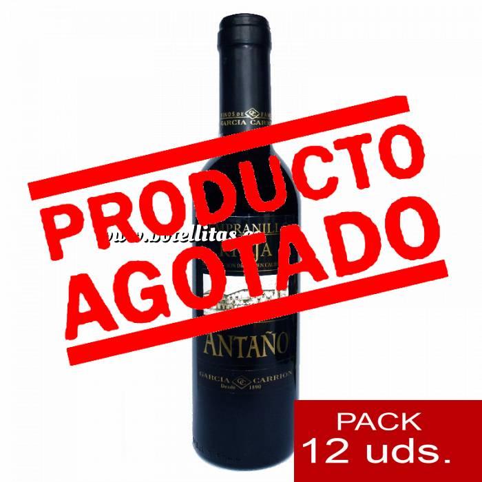 Imagen 4 Vino Vino RIOJA Antaño Tempranillo 37.5 cl CAJA COMPLETA 12 UDS