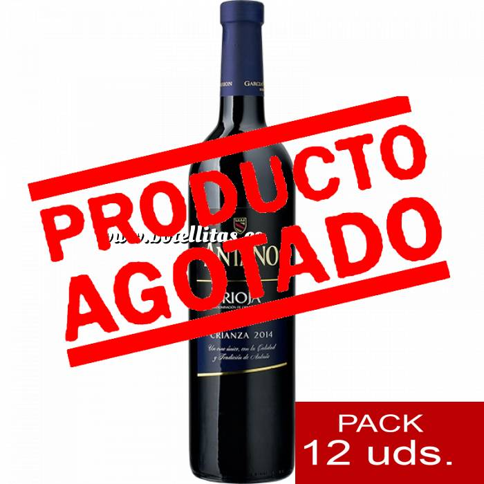 Imagen 4 Vino Vino RIOJA CRIANZA Antaño 37.5 cl CAJA COMPLETA 12 UDS