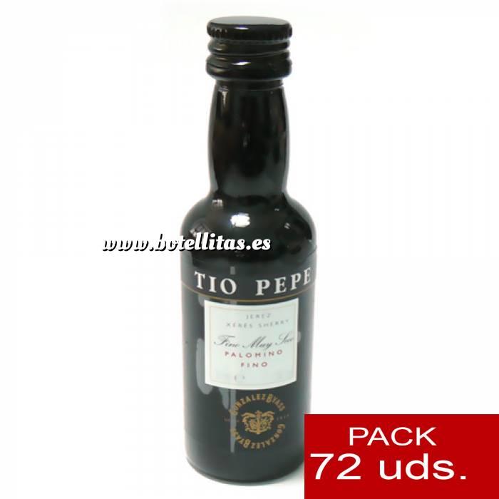 Imagen 4 Vino Vino Tío Pepe Jerez (Envase de Plástico) CAJA DE 72 UDS