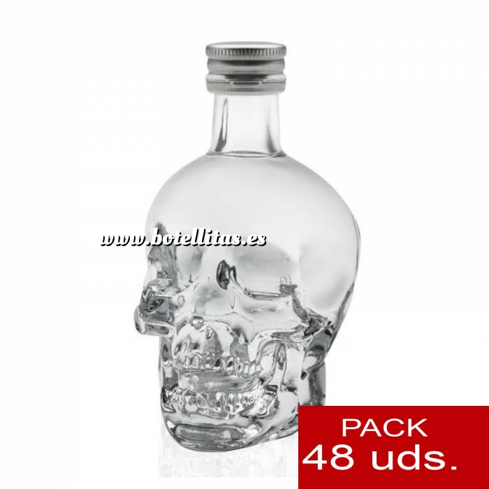 Imagen 5 Vodka Vodka Crystal Head 5cl. CAJA 48 UDS