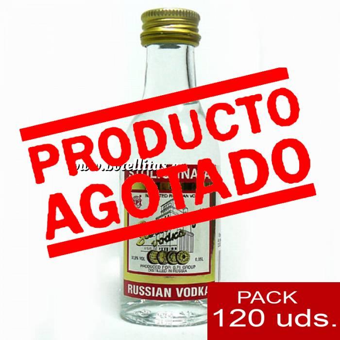 Imagen 5 Vodka Vodka Stolichnaya 5cl CAJA DE 120 UDS