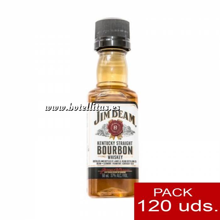 Imagen 6 Whisky Bourbon Jim Beam KENTUCKY STRAIGHT (Tapón Negro) CAJA DE 120