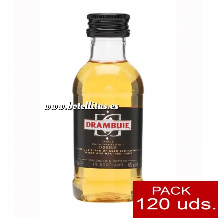 Imagen 6 Whisky Licor Escocés Drambuie 5cl CAJA DE 120 UDS