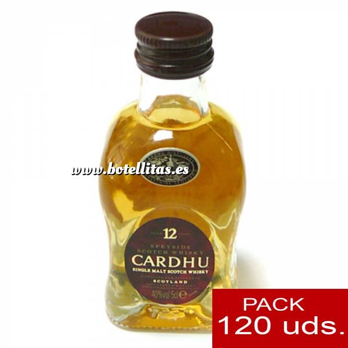Imagen 6 Whisky Whisky Cardhu 12 años 5cl CAJA DE 120 UDS