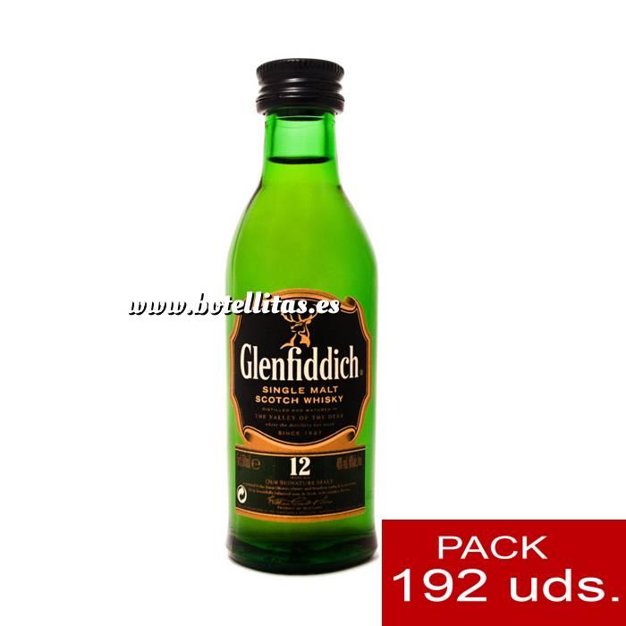 Imagen 6 Whisky Whisky Glenfiddich 12 años (sin tubo), 5CL . CAJA DE 192 UDS