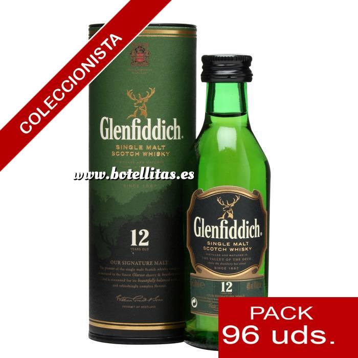 Imagen 6 Whisky Whisky Glenfiddich 12 años c/Tubo, 5CL . CAJA DE 96 UDS