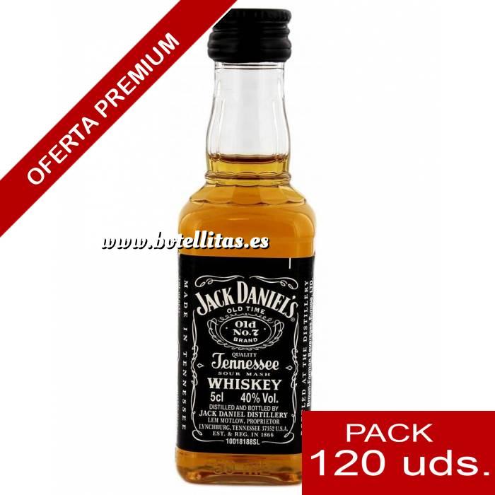 Imagen 6 Whisky Whisky Jack Daniels PLASTICO 5cl CAJA DE 120 UDS