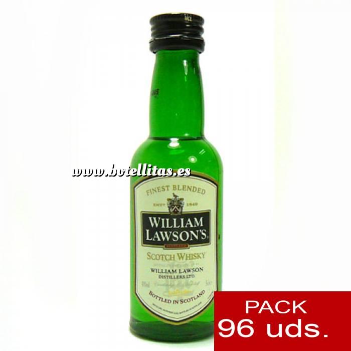 Imagen 6 Whisky Whisky William Lawson 5cl CAJA DE 96 UDS