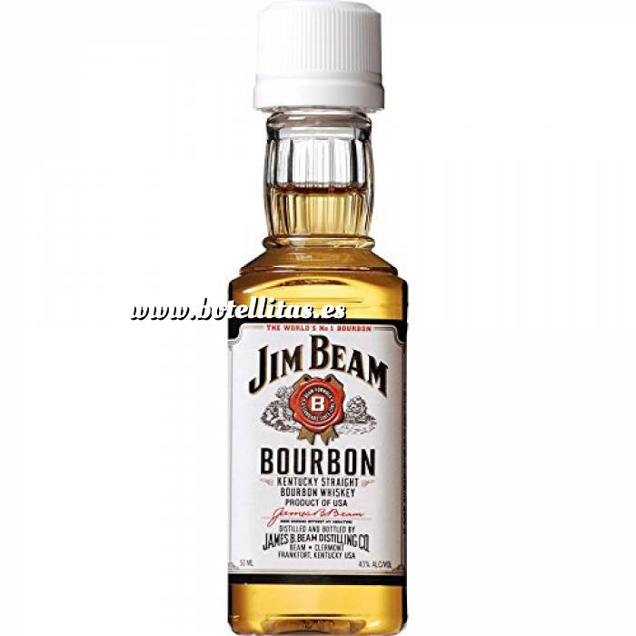 Imagen 7 Whisky Bourbon Jim Beam (Tapón Blanco)