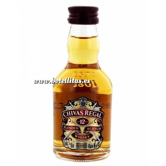 Imagen 7 Whisky Whisky Chivas Regal 12 años Blended 5cl