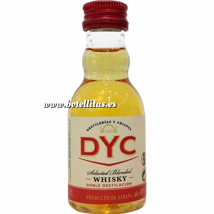 Imagen 7 Whisky Whisky DYC Selected Blended