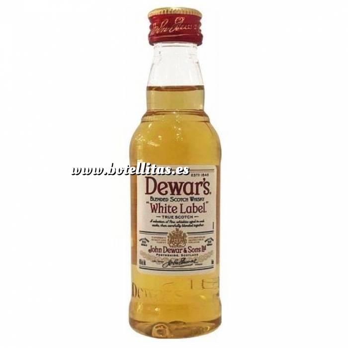 Imagen 7 Whisky Whisky Dewar´s White Label 12 años 5cl SIN CAJA