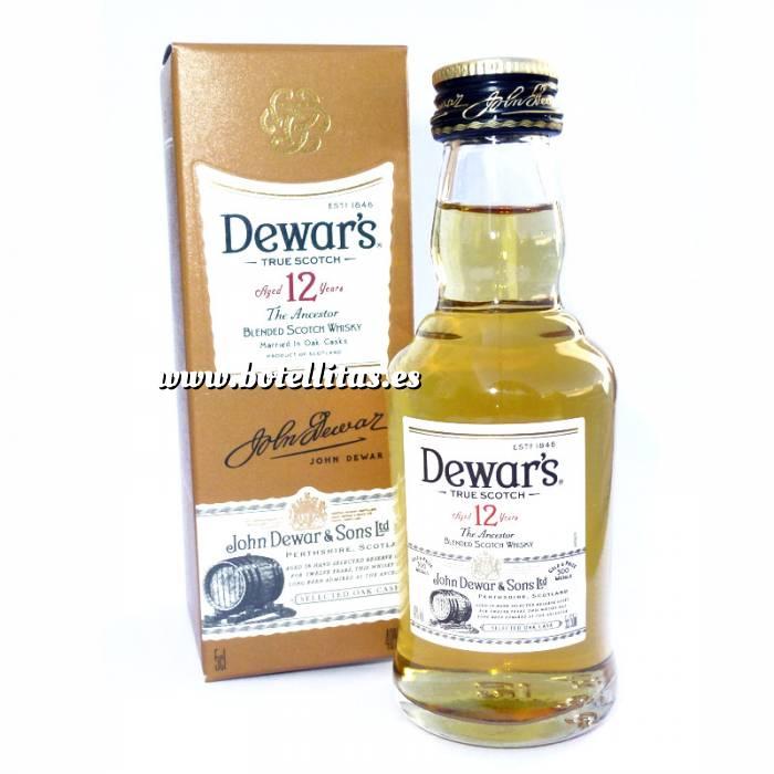 Imagen 7 Whisky Whisky Dewar´s White Label 12 años ed. Especial 5cl