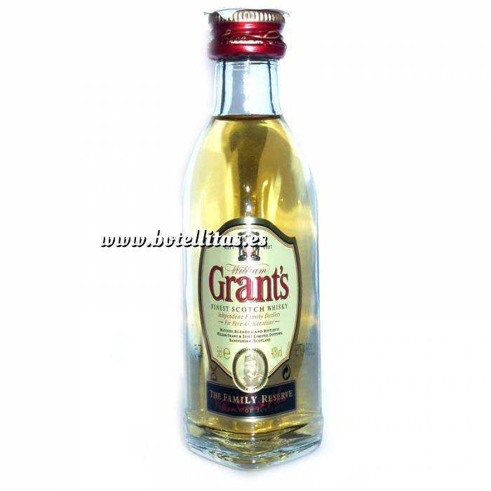 Imagen 7 Whisky Whisky Grants Escocés 5cl