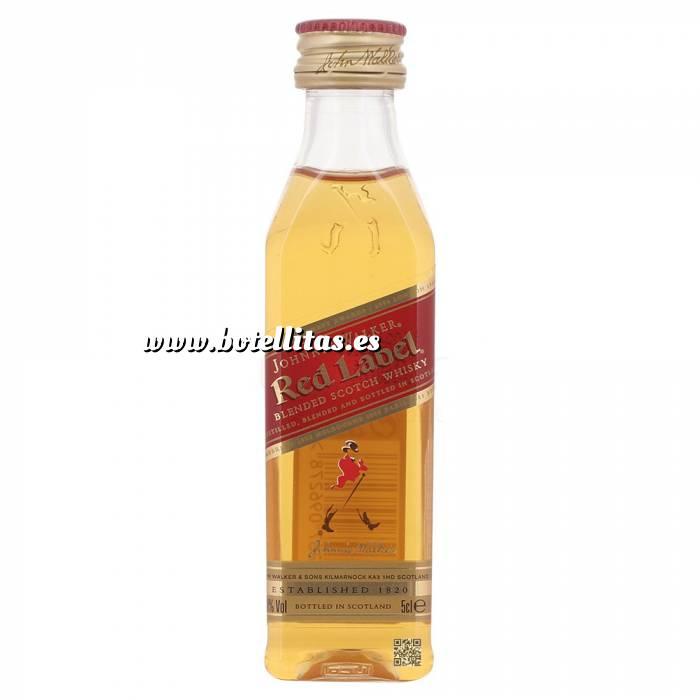 Imagen 7 Whisky Whisky Johnnie Walker Etiqueta Roja 5cl