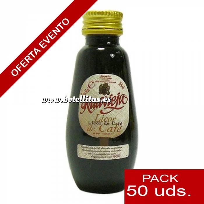 Imagen Licores, orujos y crema Licor de Café Ruavieja 5cl CAJA DE 50 UDS