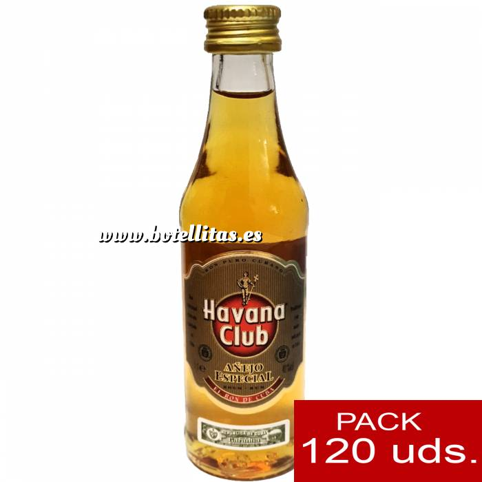 Imagen Ron Ron Havana Club (Envase de Cristal) CAJA DE 120 UDS.