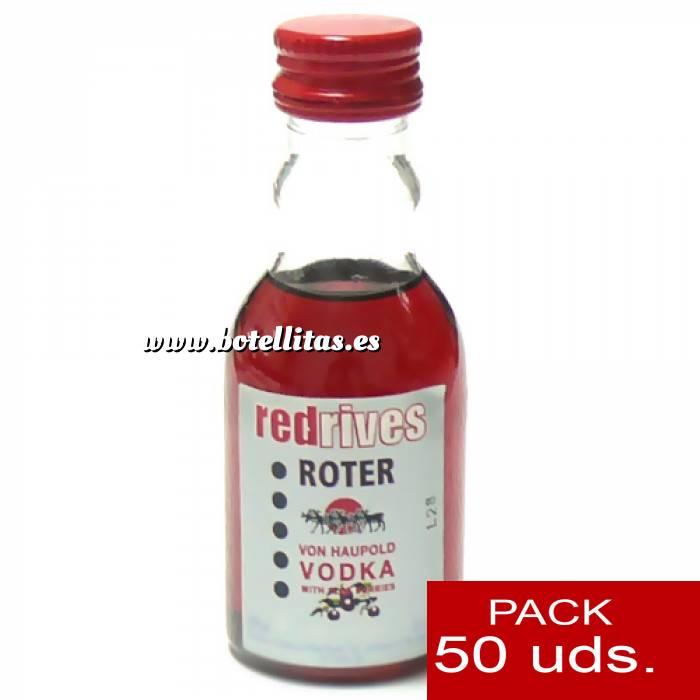 Imagen Vodka Vodka Red Rives 5cl CAJA DE 50 UDS