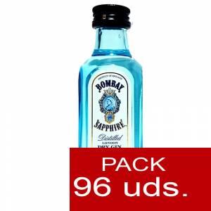1 Ginebra - Ginebra Bombay Sapphire 5cl CAJA DE 96 UDS