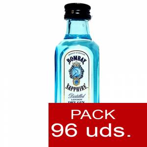 1 Ginebra - Ginebra Bombay Sapphire 5cl Cristal CAJA DE 96 UDS