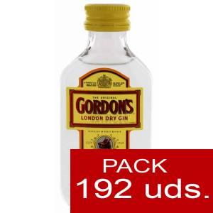 1 Ginebra - Ginebra Gordon´s London Dry Gin 5cl CAJA DE 192 UDS