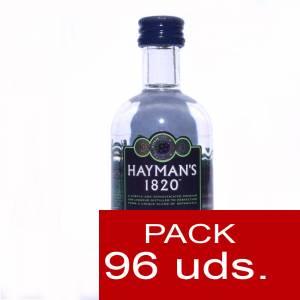 1 Ginebra - Ginebra Hayman´s 1820 Gin Liqueur 5cl CAJA DE 96 UDS