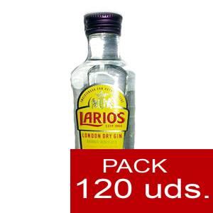 1 Ginebra - Ginebra Larios Dry Gin 5cl CAJA DE 120 UDS