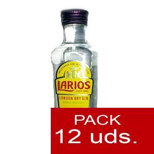 1 Ginebra - Ginebra Larios Dry Gin 5cl - PT 1 PACK DE 12 UDS