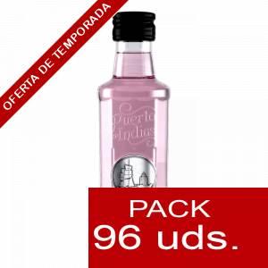 1 Ginebra - Ginebra PUERTO DE INDIAS STRAWBERRY 5cl - caja de 96 uds