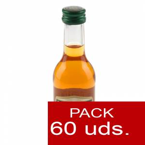 2 Brandy - Brandy Three Barrels VSOP 5cl. CAJA DE 60 UDS.