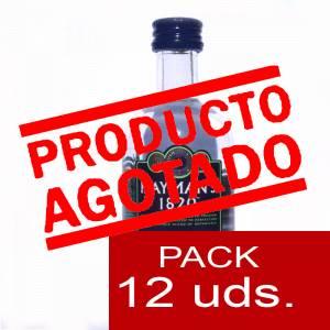 2 Ginebra - Ginebra Gin Liqueur Hayman´s 1820 5cl 1 PACK DE 12 UDS