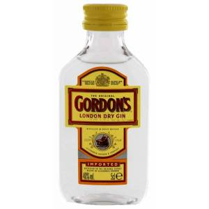 2 Ginebra - Ginebra Gordon´s London Dry Gin 5cl