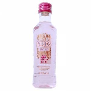 2 Ginebra - Ginebra Larios Rosé Mediterránea (Premium Gin) 5cl