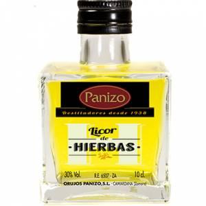 2 Licores, orujos y crema - Mini orujo de hierbas Panizo 10cl