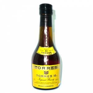 3 Coñac - Coñac Torres 10 brandy 5cl