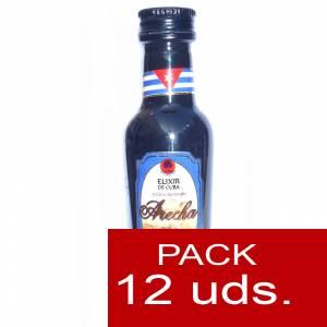 3 Ron - Ron Arecha Elixir de Cuba 5cl - PT 1 PACK DE 12 UDS