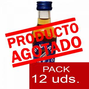 3 Ron - Ron Brugal 5cl 1 PACK DE 12 UDS