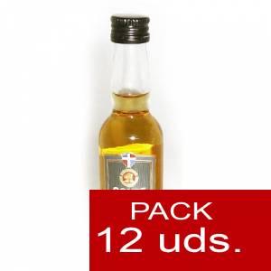 3 Ron - Ron Conde de Cuba 7 años 4cl 1 PACK DE 12 UDS